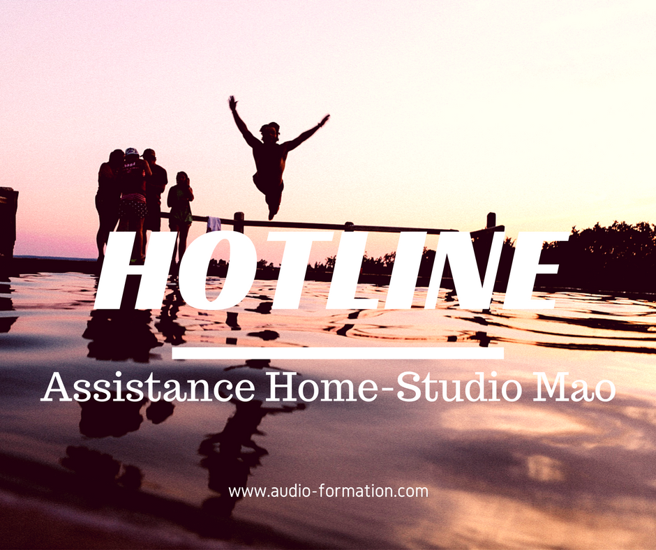 assistance home studio mao cubase logic ableton sur rendez-vous audio formation