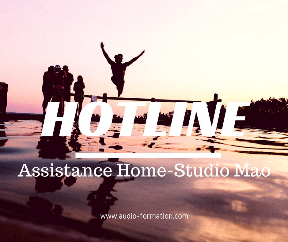 assistance home studio mao cubase logic ableton sur rendez-vous audio formation