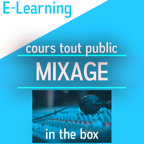 cours de mixage in the box cubase pro 8.5 e-learning tout public audio-formation