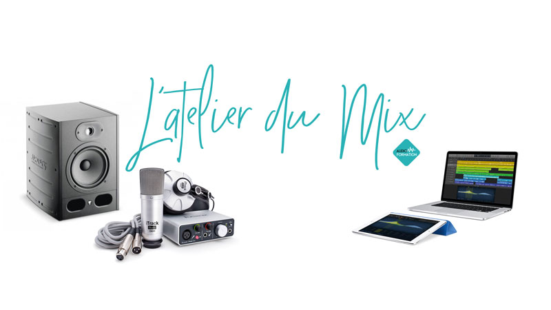 l'atelier du mix blog youtube tuto home studio mao audio formation