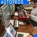stage autoprod en home studio