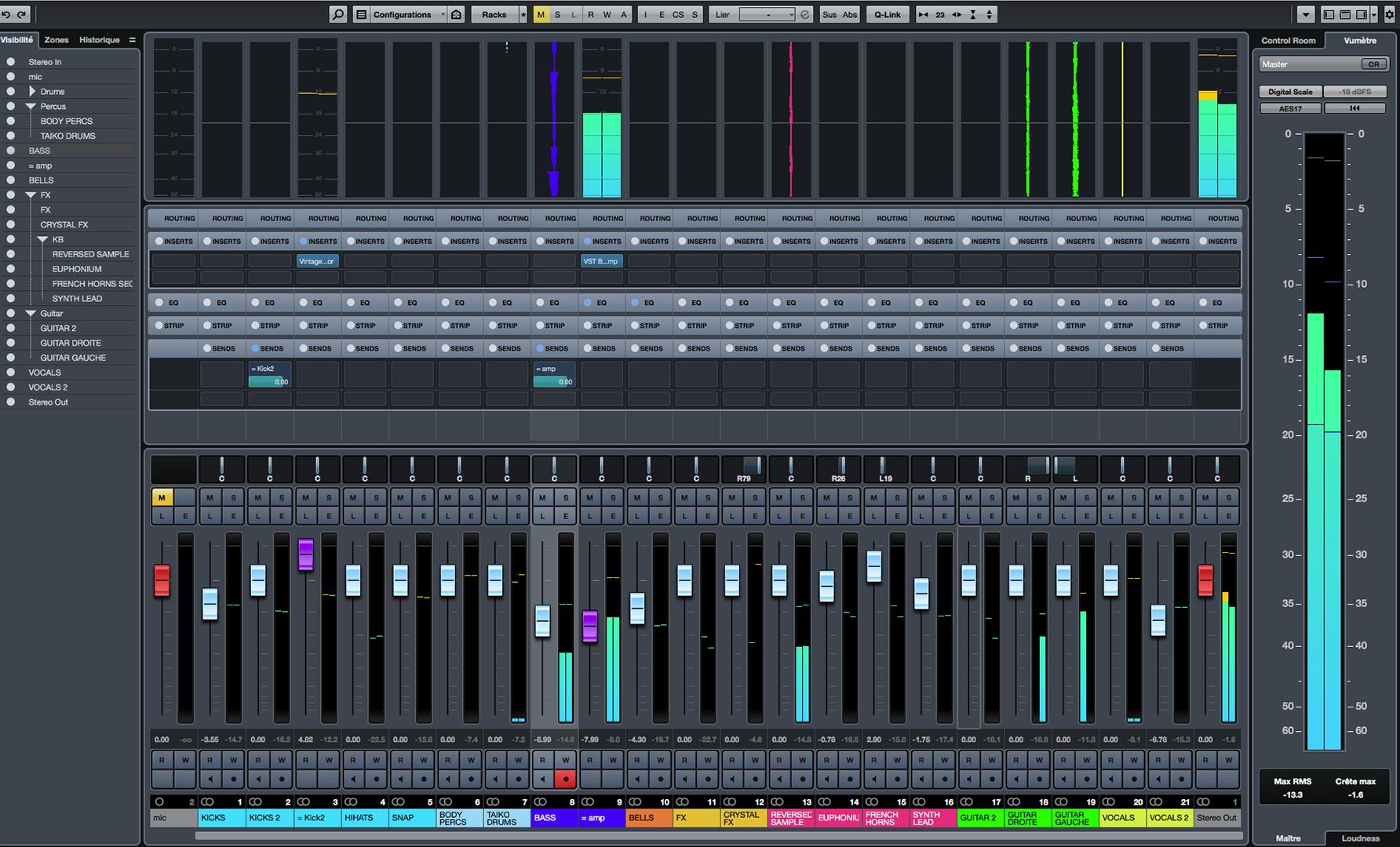 cubase audio formation