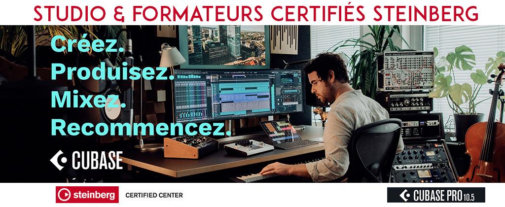 audio formation centre agréé Steinberg