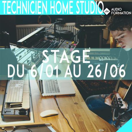 technicien home studio